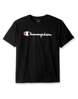 Champion Boys' Jersey Tee, Script Logo youth Champion