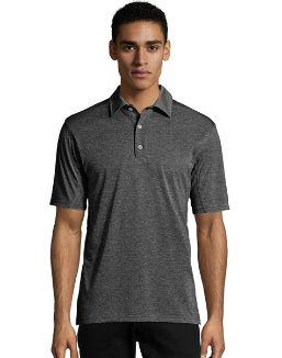 Hanes Sport™ Men's Heathered Performance Polo men Hanes