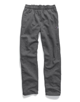 Champion Men's Powerblend® Fleece Open Bottom Pants men Champion