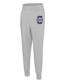 Champion Men's Heritage Fleece Jogger, Letterman Leg men Champion