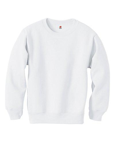 Hanes Youth ComfortBlend EcoSmart® Crewneck Sweatshirt - P360
