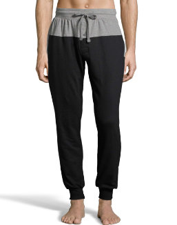 Hanes Men's 1901 Heritage French Terry Jogger with Front and Back Yoke men Hanes