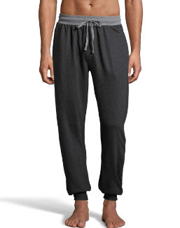 Hanes Men's 1901 Heritage French Terry Jogger Pant men Hanes