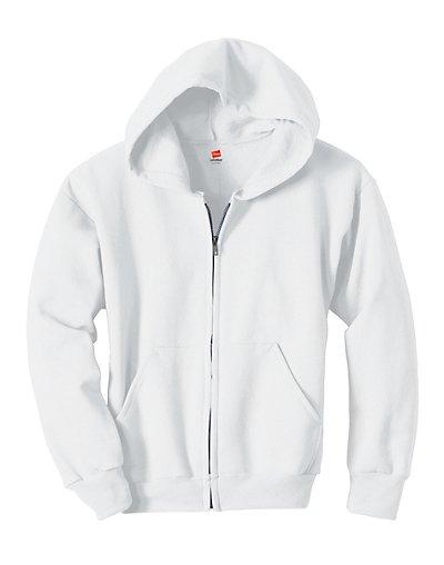 Hanes Comfortblend EcoSmart® Full-Zip Kids' Hoodie Sweatshirt - P480
