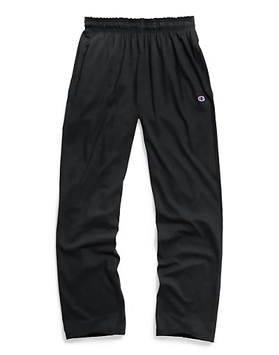 Champion P7309 407Q88  Authentic Men's Open Bottom Jersey Pants