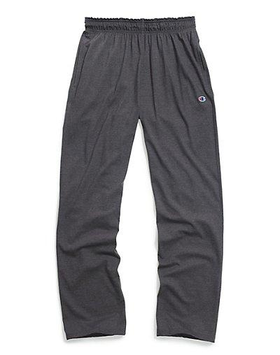 Champion P7309 407Q88  Authentic Men's Open Bottom Jersey Pants