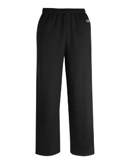 Champion Men's Double Dry Eco Fleece Open Bottom Pant w/ Pockets men Champion
