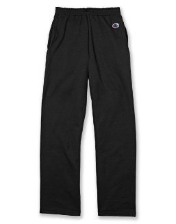 Champion Youth Double Dry Action Fleece Open Bottom Pant youth Champion