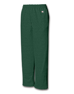 Champion Youth Double Dry Action Fleece Open Bottom Pant P890