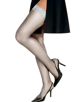 Hanes Silk Reflections Silky Sheer Thigh High women Hanes