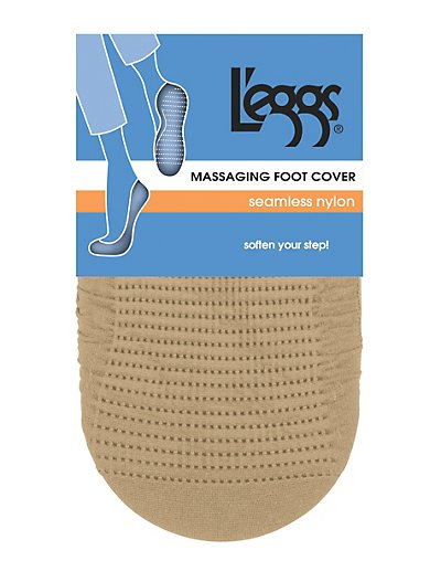 Leggs Seamless Nylon Foot Cover - 2 Pair - 03925