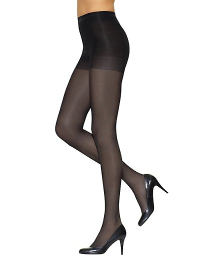 Leggs Silken Mist Control Top Semi-Opaque Leg, Enhanced Toe Pantyhose - 76000