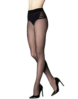 Silky Sheer Tummy Flattener Hosiery women Maidenform