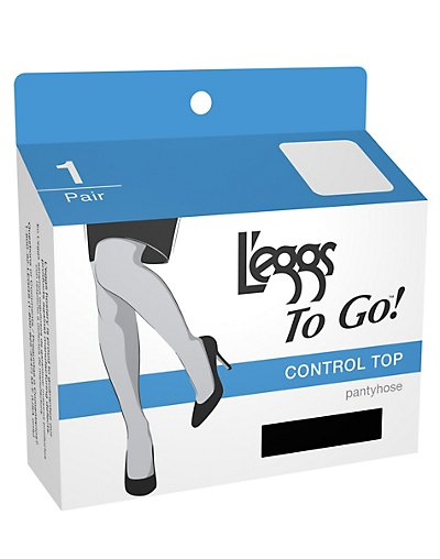 Leggs To Go Control Pantyhose 1-Pair - 15201