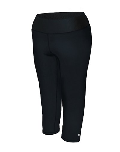 Champion QM0979  Women's Plus Absolute Capris With SmoothTec™ Waistband