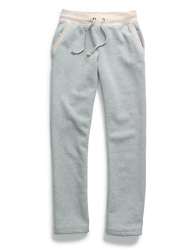 Champion Women Plus Fleece Open Bottom Pant - QM4854