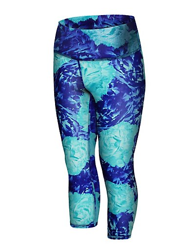 Champion Women's Plus Absolute Printed Capris With SmoothTec™ Band - QM979P