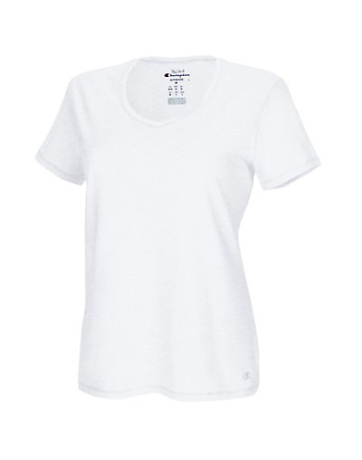 Champion Vapor® Women's Plus Jersey V-Neck Tee QW1244