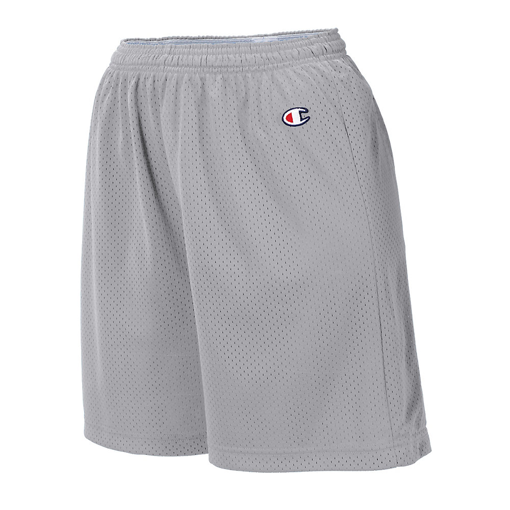 Champion Champion Youth Mesh Practice Short Athletic Grey Size - S