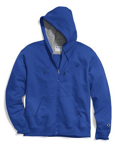 Champion S0891 407D55  Men's Powerblend® Fleece Full Zip Jacket
