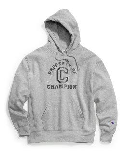 Champion Men's Heritage Fleece Pullover Hoodie, Property of Champion men Champion