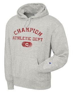 Champion Men's Heritage Fleece Pullover Hoodie, Athletics Dept. men Champion