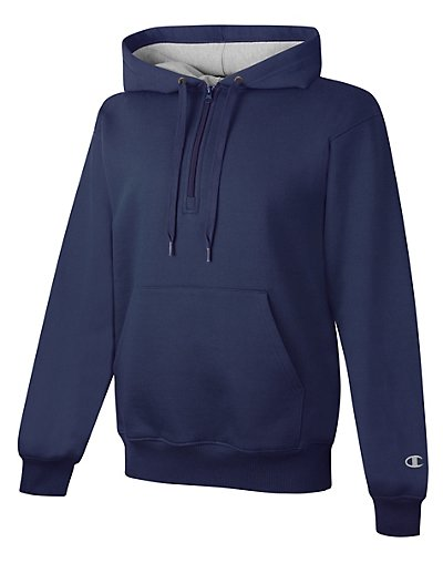 Champion Cotton Max 1/4 Zip Hood - S185