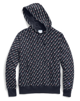 Champion Life® Men's Reverse Weave® Pullover Hoodie, All Over Logo men Champion