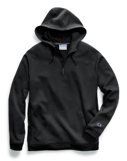 Champion Men's Stadium Fleece Quarter Zip Hood men Champion