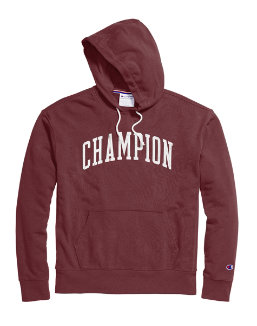 Champion Men's Heritage French Terry Pullover Hoodie, Arch Logo men Champion