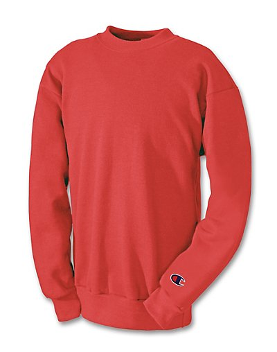 Champion Youth Double Dry Eco Fleece Crew - S690V