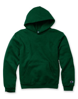 Champion Youth Double Dry Action Fleece Pullover Hood youth Champion
