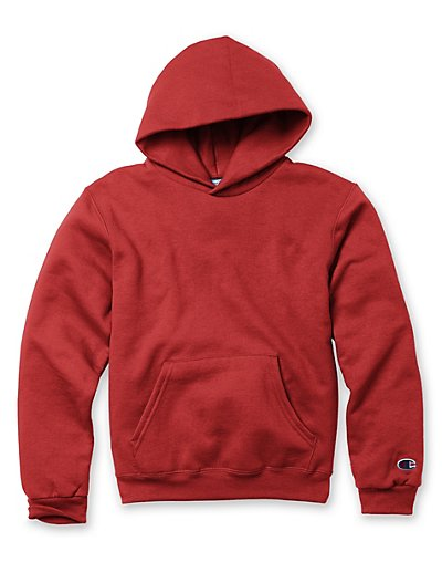 Champion Double Dry® Action Fleece Pullover Kids' Hoodie - S790V