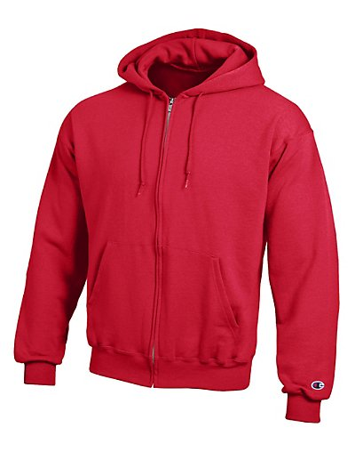 Champion Double Dry Fleece Full-Zip Hood S800V
