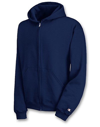 Champion Double Dry® Action Fleece Full-Zip Kids' Hoodie - S890V