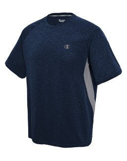 Champion Vapor® Men's Heather Tee With Vent men Champion