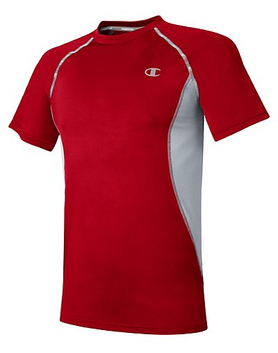 Champion T0135T 407Z98  Gear™ Men's Compression Short-Sleeve Tee