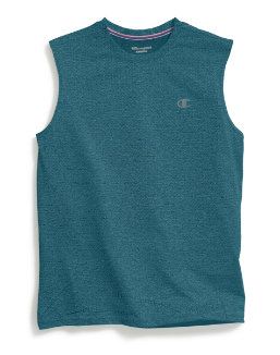 Champion Men's Double Dry® Mesh Texture Muscle Tee men Champion