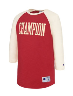 Champion Men Heritage Baseball Slub Tee men Champion