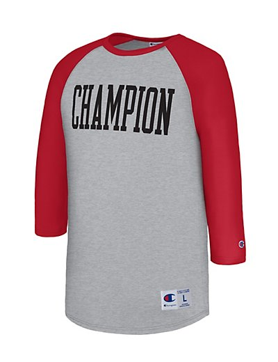 Champion Men Heritage Baseball Slub Tee - T1234_549525