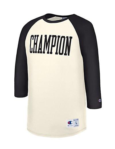 Champion Men Heritage Baseball Slub Tee T1234_549525