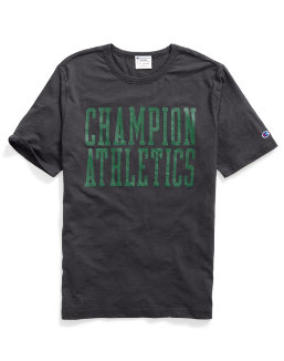Champion Men Heritage S/S Slub Tee - Stacked Block men Champion