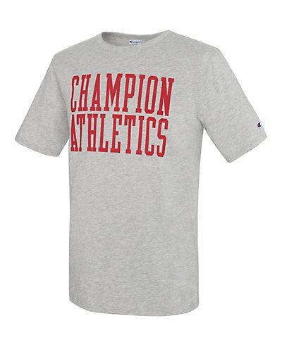 Champion Men Heritage S/S Slub Tee - Stacked Block - T1235_549523