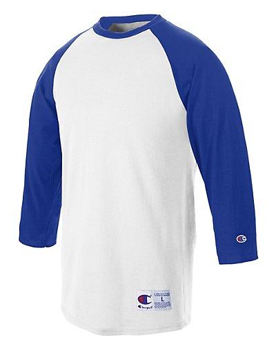 Champion Raglan Baseball T-Shirt - T137