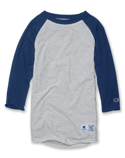 Champion Youth Raglan Baseball T-Shirt youth Champion