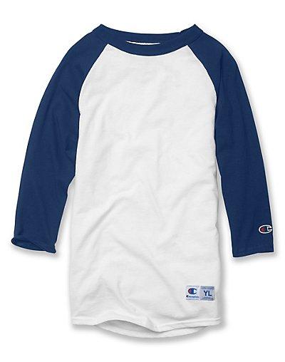 Champion Youth Raglan Baseball T-Shirt - T13Y