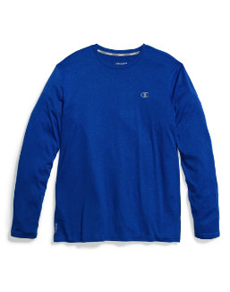 Champion Mens C Vapor Heather L/S Tee men Champion