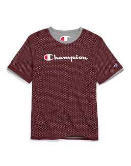 Champion Men's Reversible Mesh Tee men Champion
