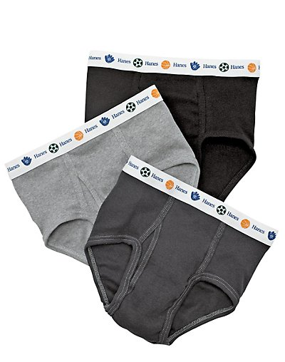 Hanes Boy's Toddler Dyed Briefs 5-Pack TB90A5