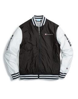 Champion Life® Men's Baseball Jacket, Multi C Logo Patches men Champion